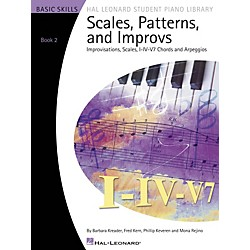 Hal Leonard Scales Patterns And Improvs - Book 2 (296734)