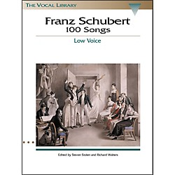Hal Leonard Schubert - 100 Songs For Low Voice (The Vocal Library Series) (740028)
