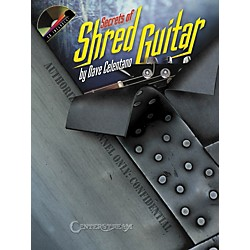 Hal Leonard Secrets of Shred Guitar Book and CD (1072)