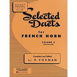Hal Leonard Selected Duets For French Horn Vol. 2 Advanced (4471010)