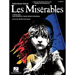 Hal Leonard Selection From Les Miserables For Clarinet (849017)