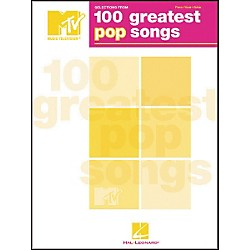 Hal Leonard Selections from MTV's 100 Greatest Pop Songs Piano, Vocal, Guitar Songbook (306500)