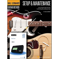 Hal Leonard Setup & Maintenance Hal Leonard Guitar Method Supplement (Includes Korg Tuner) (697392)