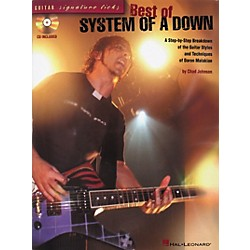Hal Leonard Signature Licks Best of System of A Down Guitar Tab Songbook with CD (695788)