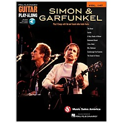 Hal Leonard Simon and Garfunkel Guitar Play-Along Volume 147 (14041591)