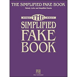 Hal Leonard Simplified Fake Book - 100 Songs In The Key Of C (240168)