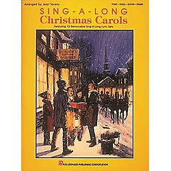 Hal Leonard Sing-A-Long Christmas Carols Piano, Vocal, Guitar Songbook (361065)