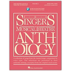 Hal Leonard Singer's Musical Theatre Anthology For Baritone / Bass Volume 3 Book/2CD's (496)