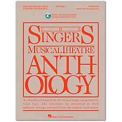 Hal Leonard Singer's Musical Theatre Anthology For Soprano Volume 1 Book/2CD's (483)