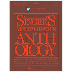 Hal Leonard Singer's Musical Theatre Anthology For Tenor Voice Volume 1 Book/2CD's (485)
