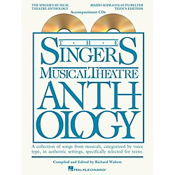 Hal Leonard Singer's Musical Theatre Anthology Teen's Edition Mezzo/Alto/Belter CD's Only (230052)