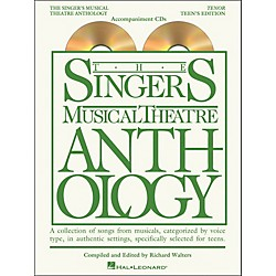Hal Leonard Singer's Musical Theatre Anthology Teen's Edition Tenor CD's Only (230053)