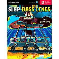Hal Leonard Slap Bass Lines Book/CD (50449508)