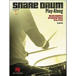 Hal Leonard Snare Drum Play-Along - Melodic Rudiments With Backing Tracks In All Styles (Book/CD) (6620141)