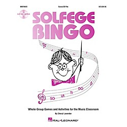 Hal Leonard Solfege Bingo - Whole-Group Games and Activities Game/CD (9970423)