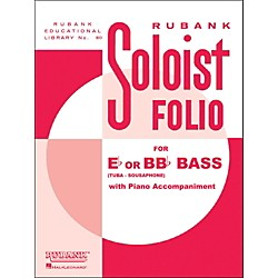 Hal Leonard Soloist Folios - Bass ( E Flat Or Bb Flat) And Piano (4472100)