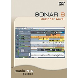 Hal Leonard Sonar 6 Beginner Level DVD Music Pro Guide Series (320667)