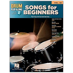 Hal Leonard Songs For Beginners - Drum Play-Along Volume 32 Book/CD (704204)