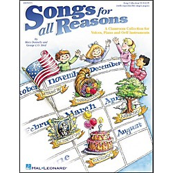 Hal Leonard Songs for All Reasons-Voices, Piano and Orff (9970371)