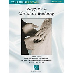 Hal Leonard Songs for a Christian Wedding Piano, Vocal, Guitar Songbook (310960)