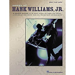 Hal Leonard Songs of Hank Williams Jr Piano, Vocal, Guitar Songbook (306333)