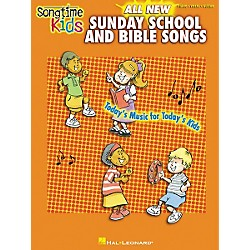 Hal Leonard Songtime Kids All New Sunday School and Bible Songs Piano, Vocal, Guitar Songbook (306468)