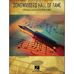 Hal Leonard Songwriters Hall Of Fame 2003-2009 arranged for piano, vocal, and guitar (P/V/G) (311861)