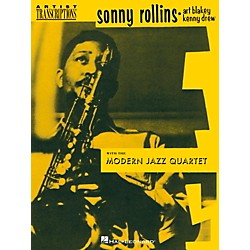 Hal Leonard Sonny Rollins With The Modern Jazz Quartet (102751)