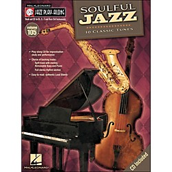 Hal Leonard Soulful Jazz - Jazz Play-Along Volume 105 (CD/Pkg) (843151)