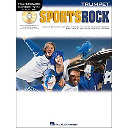 Hal Leonard Sports Rock For Trumpet - Instrumental Play-Along Book/CD Pkg (842330)