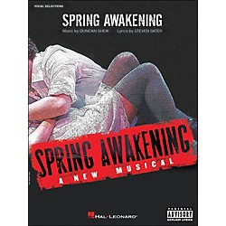 Hal Leonard Spring Awakening - A New Musical arranged for piano, vocal, and guitar (P/V/G) (313379)