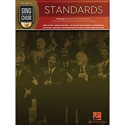Hal Leonard Standards - Sing With The Choir Series Volume 3 Book/CD (333003)