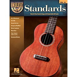 Hal Leonard Standards - Ukulele Play-Along Vol. 16 Book/CD (702835)