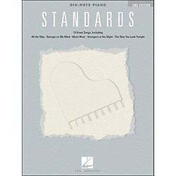 Hal Leonard Standards For Big Note Piano (240908)