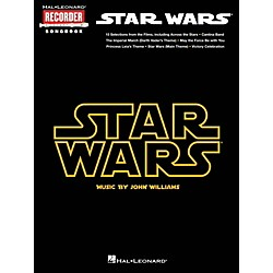 Hal Leonard Star Wars - Recorder Songbook (110292)