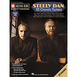Hal Leonard Steely Dan 10 Classic Tunes - Jazz Play-Along, Volume 78 (CD/Booklet) (843070)