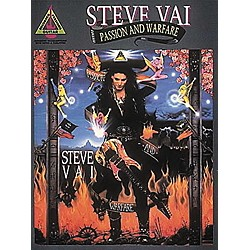 Hal Leonard Steve Vai Passion and Warfare Transcribed Scores Book (660137)