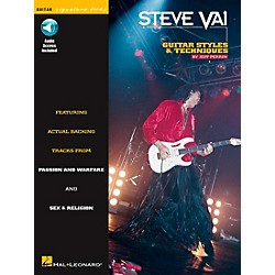 Hal Leonard Steve Vai Signature Licks Style & Techniques Book with CD (673247)