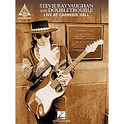 Hal Leonard Stevie Ray Vaughan & Double Trouble Live at Carnegie Hall Guitar Tab Book (690417)