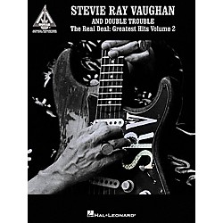 Hal Leonard Stevie Ray Vaughan & Double Trouble The Real Deal Greatest Hits Volume 2 Guitar Tab Book (690370)