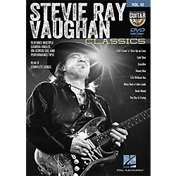 Hal Leonard Stevie Ray Vaughan Classics - Guitar Play-Along DVD Volume 43 (122156)