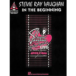 Hal Leonard Stevie Ray Vaughan In The Begininning Guitar Tab Songbook (694879)