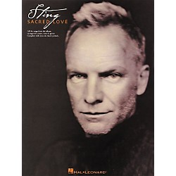 Hal Leonard Sting Sacred Love Piano, Vocal, Guitar Songbook (306571)