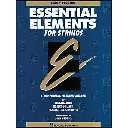 Hal Leonard String Book 2 Cello Essential Elements For Strings (862551)