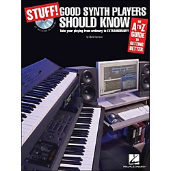Hal Leonard Stuff! Good Synth Players Should Know (Book/CD) An A-Z Guide To Getting Better (311773)