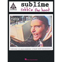 Hal Leonard Sublime Robbin' The Hood Guitar Tab Songbook (690992)