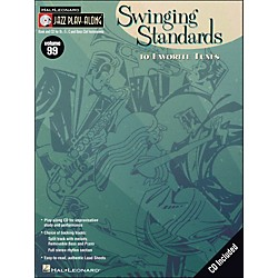 Hal Leonard Swinging Standards Jazz Play-Along Volume 99 Book/CD (843150)