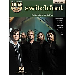 Hal Leonard Switchfoot - Guitar Play-Along Volume 103 (Book/CD) (700773)