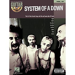 Hal Leonard System of a Down Guitar Play-Along Series Book with CD (699751)