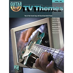 Hal Leonard TV Themes Guitar Play-Along Volume 45 Book with CD (699718)